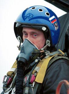 13 Images Of Vladimir Putin Doing Things