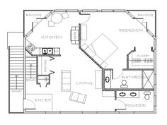 Small Mother-In-Law Floor Plans | Mother in Law House Plans with Apartment Mother in Law ...