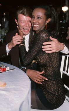 david bowie and iman - Google Search