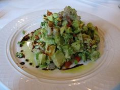 Avocado salad for lunch | A photo of Prosecco | Added by Stacy Johnson