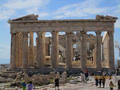 The Parthenon.  Athens, Greece