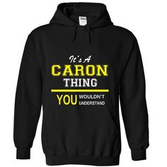 Its A CARON Thing.! - #gift card #sister gift. SECURE CHECKOUT => https://www.sunfrog.com/Names/Its-A-CARON-Thing-2287-Black-10347724-Hoodie.html?68278