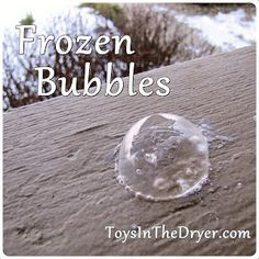 Frozen Bubbles - Toys In The Dryer