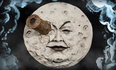 The Moon of Georges Melies Statue Wall Plaque is available at Sideshow.com for fans of Le Voyage dans la Lune, Jules Verne, and French silent films.