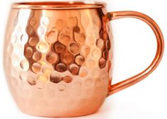Authentic Moscow Mule Mug|Hand-Made | 100% Copper | Barrel Design 16 oz | Hammered Finish | No Lining or Plating | from Kick Ass Mule Co. | Perfect Christmas Gift Deal