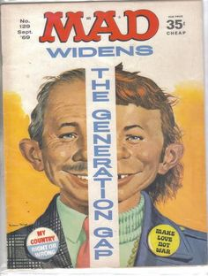 Mad Magazine No.129 September 1969 - Cakcollectibles