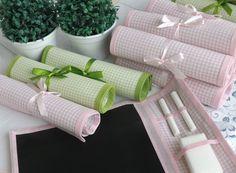 Lousinha de tecido tema piquenique