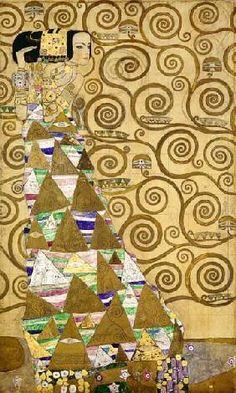 Gustav Klimt - l'attente