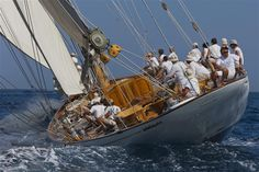 Cruising the waves off St. Tropez
