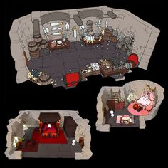 Horun Castle Rooms