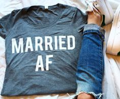 Married AF Shirt #LavaHot http://www.lavahotdeals.com/us/cheap/married-af-shirt/104398