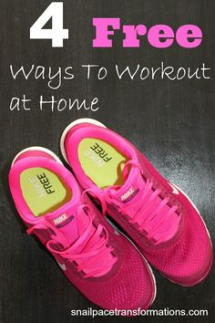 4 free ways to workout at home so that you have no excuse not to workout regularly.