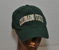 0e3c84675b1 Colorado State University RAMS green Baseball Cap Hat Embroidered   AmericanNeedle  BaseballCap Colorado State University