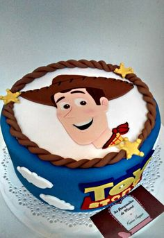 """Tema: Toy Story"""" - Toys for years old happy toys Toy Story Theme, Festa Toy Story, Toy Story Party, Toy Story Birthday Cake, Woody Birthday, 3rd Birthday, Bolo Toy Story, Toy Story Cakes, Anniversaire Woody"""