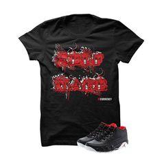 Jordan 9 Low Bred Black T Shirt (Self Made)