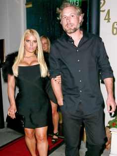 Jessica Simpson in Little Black Dress -