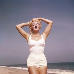 Imagen de Marilyn Monroe and beach
