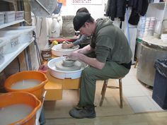Creating at The Pottery Shed  www.potterybristol.co.uk