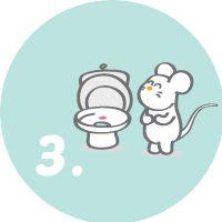 Mantener la higiene del WC www.pipiyo.com
