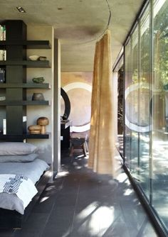 """The Pavilion is situated in the Cradle of Humankind is """"the closest you can get to living in nature without being exposed to the elements"""". Architecture Design, Glass Pavilion, Cute House, Traditional Landscape, Human Nature, Interior Design, Magazine, Heart, Home Decor"""