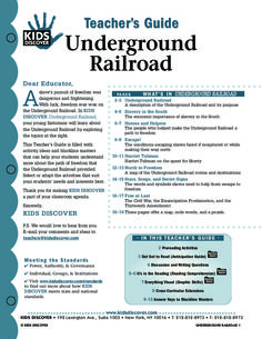 This free Lesson Plan for Kids Discover Underground Railroad is full of activities and assessments to help you teach kids about the many routes slaves took and the obstacles they faced, and also focuses on some of the line's heroes, like Harriet Tubman.