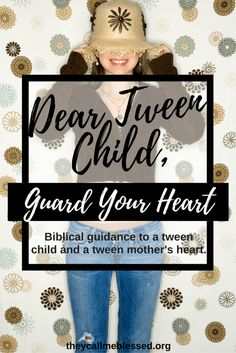 Tween Child, Guard Your Heart. Dear Tween Child, Guard Your Heart. A letter with Biblical guidance for your tween child.Dear Tween Child, Guard Your Heart. A letter with Biblical guidance for your tween child. Parenting Courses, Parenting Teens, Parenting Advice, Parental Guidance, Guard Your Heart, Raising Girls, Christian Parenting, Have Time, Tween