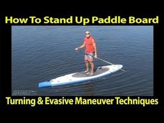How To Stand Up Paddle Board-Turning & Evasive Maneuver Techniques Sup Paddle Board, Sup Stand Up Paddle, Standup Paddle Board, Offshore Wind, Sup Yoga, Sup Surf, Learn To Surf, Windsurfing, Big Waves