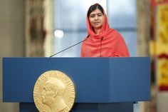 Malala Just Became The Youngest Person Ever To Accept The Nobel Peace Prize! #GirlPower