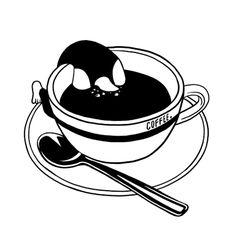 """italianlady2: """" """"""""Caffè. Noi dipendenti, solo dopo la prima dose mattutina riusciamo ad affacciarci alla vita."""" """" """"Isabel Allende """" """" ☕️ buongiorno"""