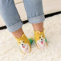 This five-pack of adorable puppy socks that will keep your feet super cozy. | 13 Awesome Products Canadians Are Buying On Amazon This Week