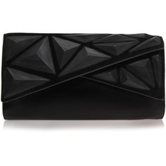 Dawn Clutch Vince Camuto Black found on Polyvore