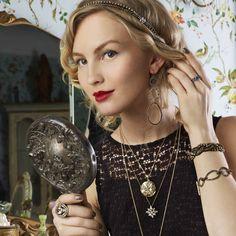 Crystal Pave Link Toggle Bracelet http://elizabethschwartz.chloeandisabel.com