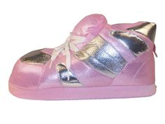 3ea1ea6baf05 A staple in the Snooki Line these slippers are bright, fun and sparkly. Happy  Feet Slipper are made of polyester and with a foam rubber bottom are the  most ...