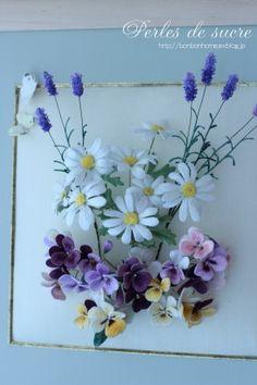 アトリエFILさんの展示会「Flowers」へ : Perles de sucre