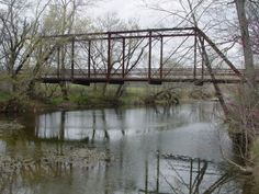Old Bridge, over Warm Fork, Thayer, Mo