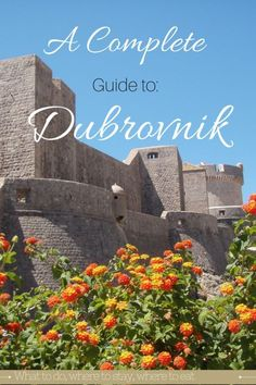 A complete guide to Dubrovnik, Croatia. Click here to find out; things to do, where to stay, food and drink, packing list, budget and more.