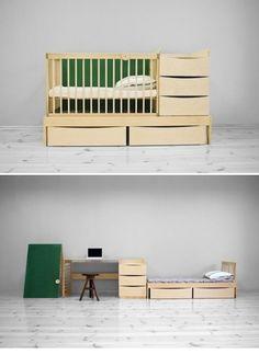 Adensen Furniture's convertible furniture, so smart