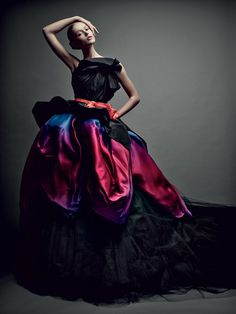 Frida Gustavsson for Christian Dior Haute Couture www.foreveryminute.com Luxury Silk Lounge and Sleepwear
