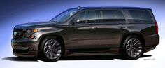 Chevrolet Suburban Black Concept