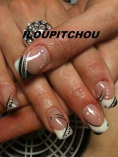 Super nails design lines manicures Ideas French Manicure Nails, French Tip Nails, My Nails, French Nail Art, Gel Manicure, Pink Nail Art, Gel Nail Art, Nail Polish, French Nail Designs