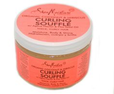heyfranhey: Shea Moisture just unveiled their newest product, the Coconut & Hibiscus Curl Souffle. You can use it as a gel/leave-in for those wash & go days or to define your protective styles. The ingredients are all natural, including Flax Seed Oil & Agave Nectar. To be released through Target, for $9.99, on August 28th. Dope!