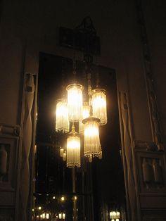 Lamp, Francouzska restaurant, Prague, 2011