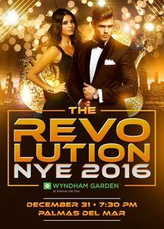 The Revolution NYE 2016 #sondeaquipr #therevolutionnye #wyndhamgarden #palmasdelmar #humacao #despedida2015