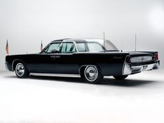 1962 Lincoln Continental bubbletop limousine with suicide doors