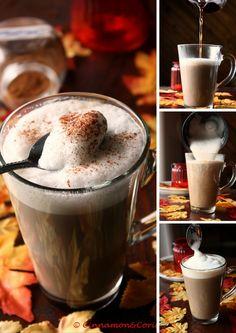 Cappuccino auf kanadisch! Bei diesem herbstlichen Heißgetränk trifft köstlicher…
