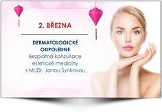 Dermatologické odpoledne s MUDr. Janou Synkovou - Salon Andělské Krásy