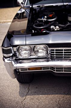 Impala SS: Now, that's what I'm talkin about!  With A/C & power windows!