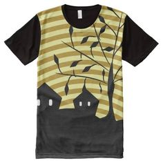 (Strange village at night All-Over print t-shirt) #Spooky #Black #Dark #Eerie #Frightening #Gothic #Halloween #Horror #HorrorFan #HorrorMovies #Midnight #Moonlight #Night #Scary #ScaryAndFunny #Strange #StrangeVillage is available on Funny T-shirts Clothing Store   http://ift.tt/2cwOW8u