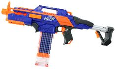 The Best Nerf Gun for Every Kid (at Heart) Toy Nerf Guns, Arma Nerf, Pistola Nerf, Backyard Water Parks, Army Bedroom, Nerf Accessories, Nerf Birthday Party, Nerf Mod, Bakugan Battle Brawlers