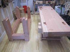 Roubo using Douglas fir: